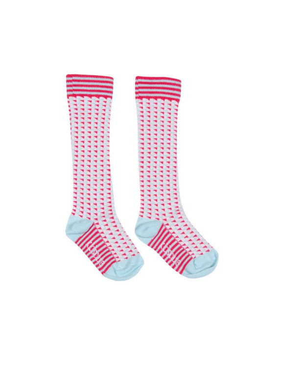 Kidscase Knee high Socks Dark Pink