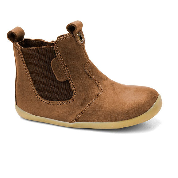 Bobux Step Up Caramel jodphur boot- eu18 only