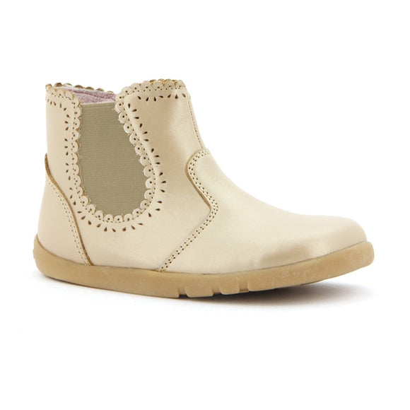 Bobux Iwalk Gold Lucky Lacey Boot