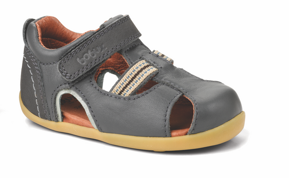 Bobux Step Up Intrepid sandal Charcoal