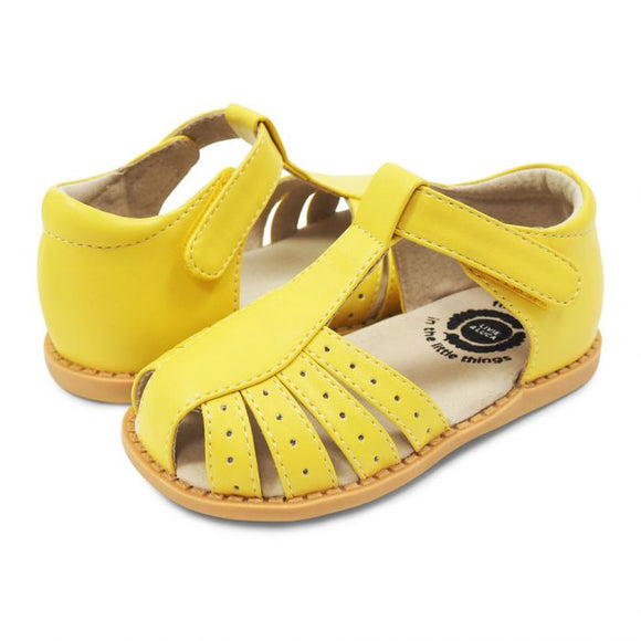 Livie & Luca Petal Paz Lemon Yellow