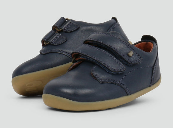 Bobux Step Up Navy Port Shoe