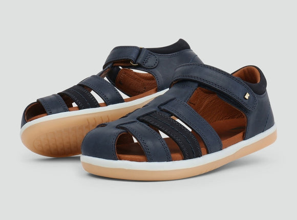 Bobux Kid+  Roam Sandal Navy