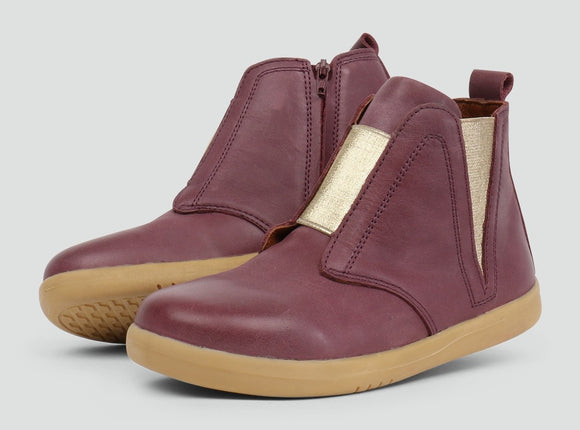 Kid+ Signet  Boot Plum