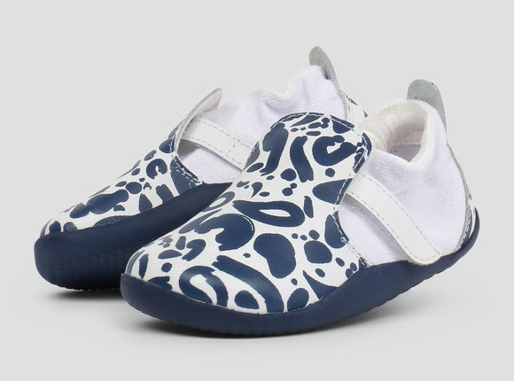 Bobux Xplorer Abstract Navy/White