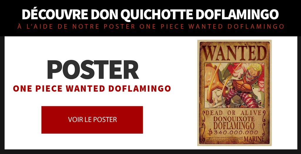 Poster One Piece Wanted Doflamingo