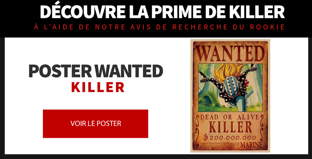 Poster Wanted killer