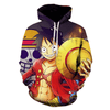 Sweat One Piece  Luffy Drapeau Pirates