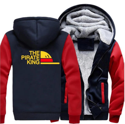 Veste Polaire One Piece Roi des Pirates