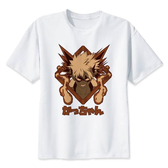 T-Shirt My Hero Academia Bakugo