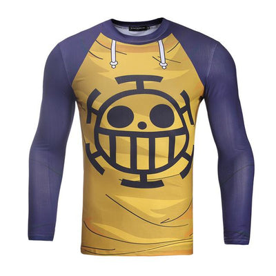 T-Shirt One Piece<br>Musculation Trafalgar Law</br>