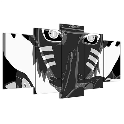 Tableau Naruto black and white
