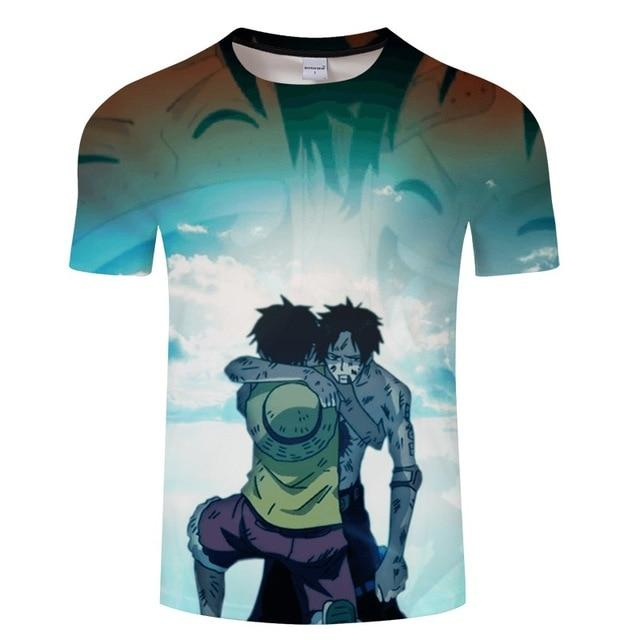 T-Shirt Luffy Ace | Manga Zone