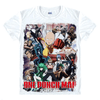 T-Shirt One Punch Man<br>Saitama & Cie</br>