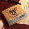 Portefeuille One Piece<br>Skull Luffy