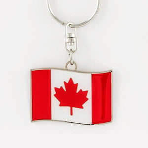 Canada Flag Keychain - Things Engraved
