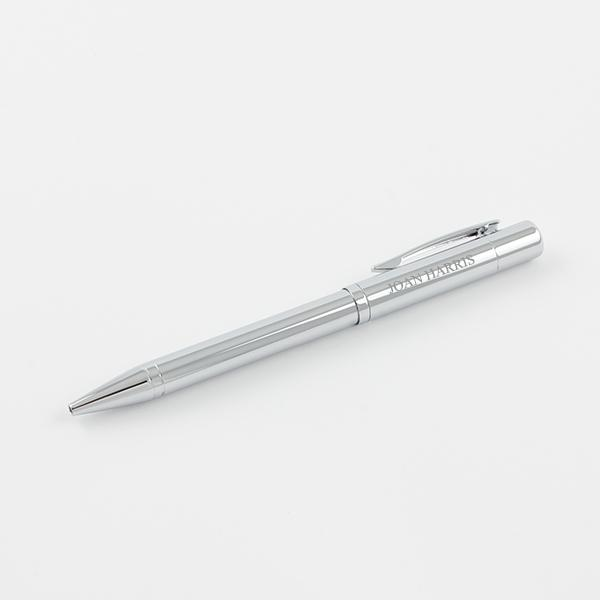 "Franklin Covey ""Greenwich"" Chrome Ballpoint Pen - Things Engraved"