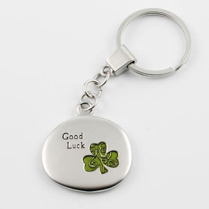 Keychain - Good Luck Clover - Things Engraved