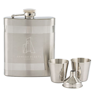 Glass Box Flask Set