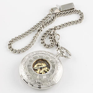 Skeleton Pocket Watch