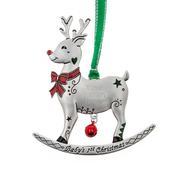 Baby's 1st Christmas Reindeer Ornament