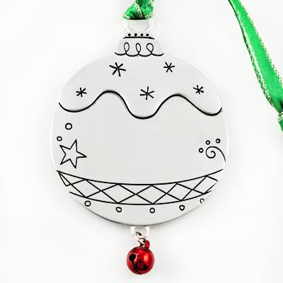 Ornament Ball with Bell - Things Engraved