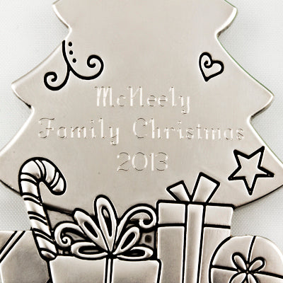 The Joy of Christmas is Family Ornament