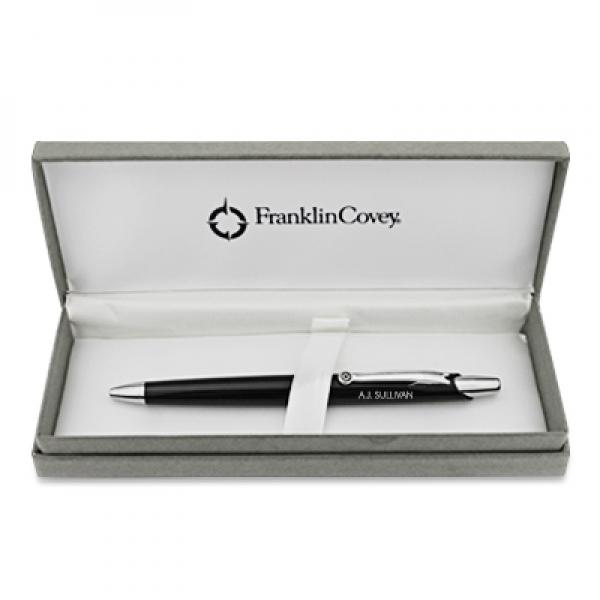 Franklin Covey Nantucket Black Ballpoint Pen - Things Engraved