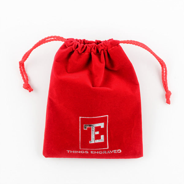 Velvet Gift Pouch/Gift Bag with Logo