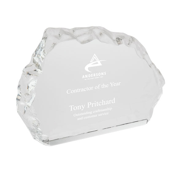 Wide Glass Iceberg Award