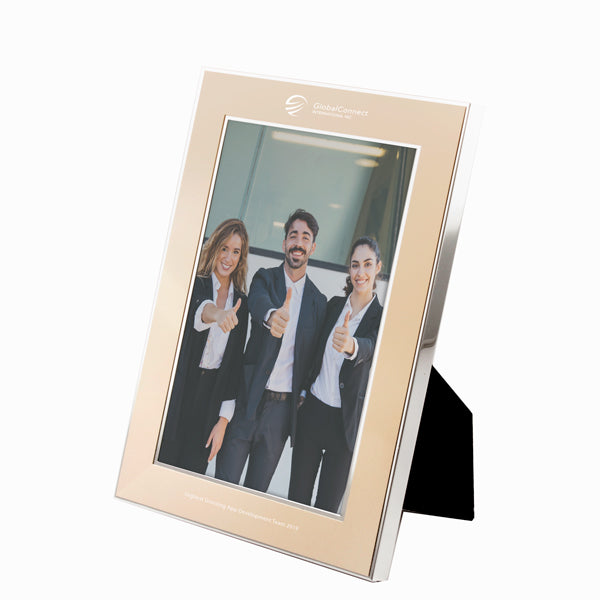 Champagne Silver Frame