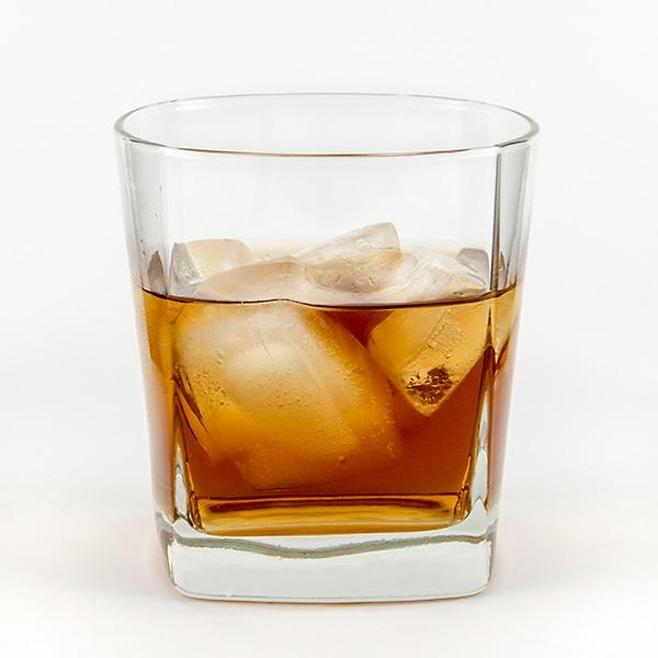 Squared Double Old Fashion 12oz - Things Engraved