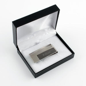 Money Clip Triple Tone in Box - Things Engraved