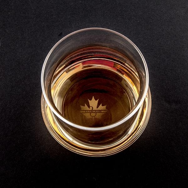 Canadian Whisky Glass Boxed - Things Engraved