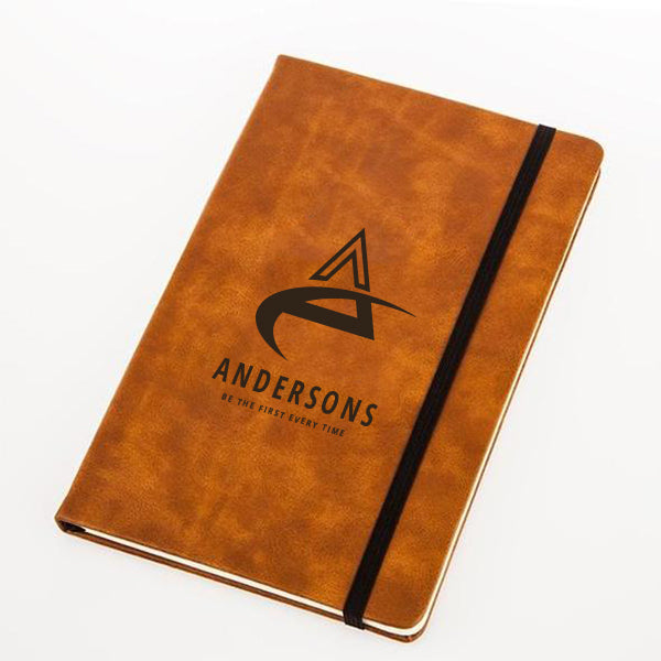 Leather-Look Notebook