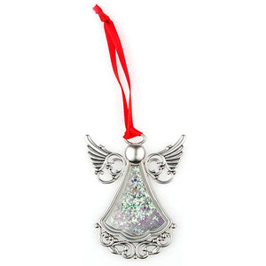"Glitter Angel ""You are Special"" Ornament - Things Engraved"