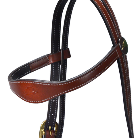 Country Brown Headstall Only