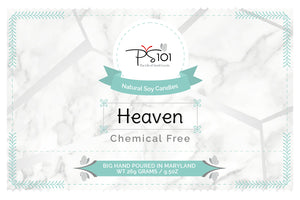 Heaven Scented Natural Soy Candle