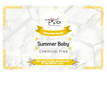 Summer Baby Scented Natural Soy Candle