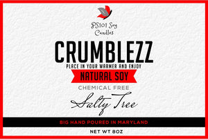 Salty Tree Soy wax Crumblezz (Crumbs) 8oz