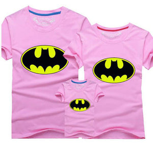 Tshirt Batman Famille Rose - T-shirt -  SameClothes