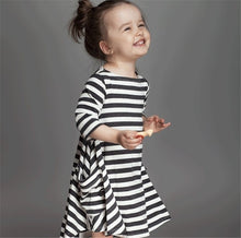 Robe/Robe coulissante rayée - Robe -  SameClothes