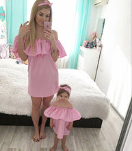 Robe Fashion Rose Mère et Fille - Robe -  SameClothes