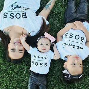 Tshirt Famille Boss - T-shirt -  SameClothes