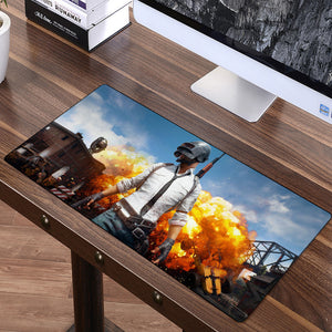 PUBG Large Keyboard and Mouse Desk Mat