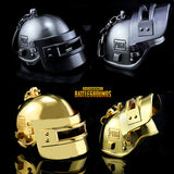 Playerunknown's Battlegrounds Level 3 Helmet Keychain