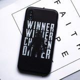 PUBG Chicken Dinner iPhone Case