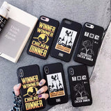 PUBG Chicken WINNER  Soft TPU Case