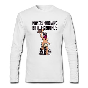 PUBG Long Sleeve Tees Tops