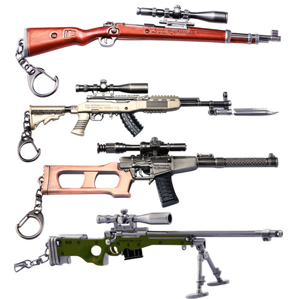 PUBG 3D Keychain four different styles